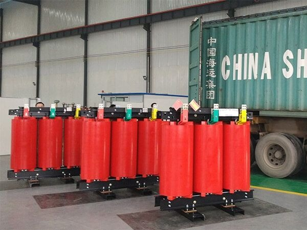 Cast resin transformer exported to Spain
