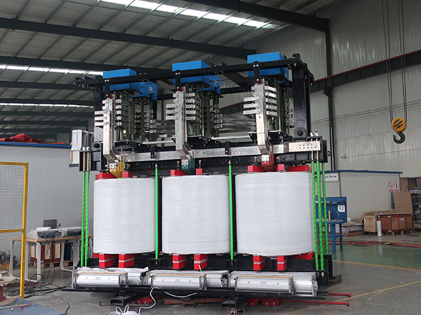 CRRC 10.4MVA dry type transformer
